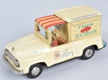 JAPAN FORD TIN FLAVOR ICE CREAM DELIVERY TRUCK