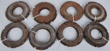 LARGE LOT of HARLEY DAVIDSON STEEL CLUTCH PLATES