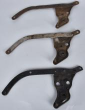 3-HARLEY DAVIDSON FOOT CLUTCH LEVERS