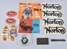 VINTAGE MOTORCYCLE LOT, TRIUMPH, BMW & MORE