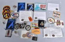 HARLEY DAVIDSON & MOTORCYCLE PATCHES, PINS & MORE
