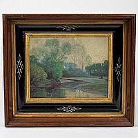 Robert A. Graham (1873-1946, American), painting