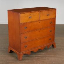 Eldred Wheeler (attrib.), Federal chest of drawers
