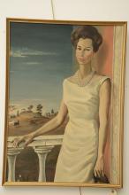 Portrait of Andree Dormeuil Wildenstein