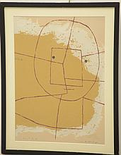 After Paul Klee, screenprint