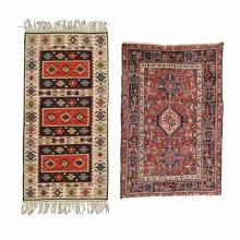 (2) Semi-antique rugs