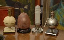 (4) Art Deco table lamps