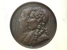 1833 French commemorative bronze medal