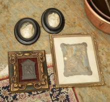 (4) continental framed religious icons