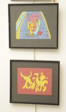 (2) Tauromaquia and Picasso style animation cels