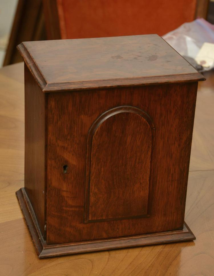 kitchen cabinets furniture antique oak tabletop pipe humidor cabinet 20435
