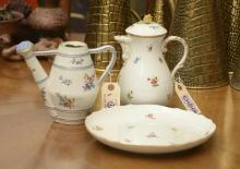 Meissen and Continental porcelain group
