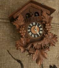 Cuendet Swiss musical movement cuckoo clock