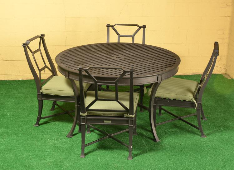 Restoration Hardware Antibes Outdoor Dining Set