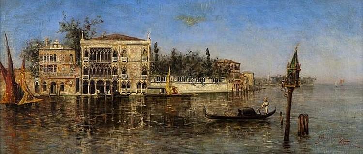 Alessandro Guaccimanni (1864-1927, Italian), painting