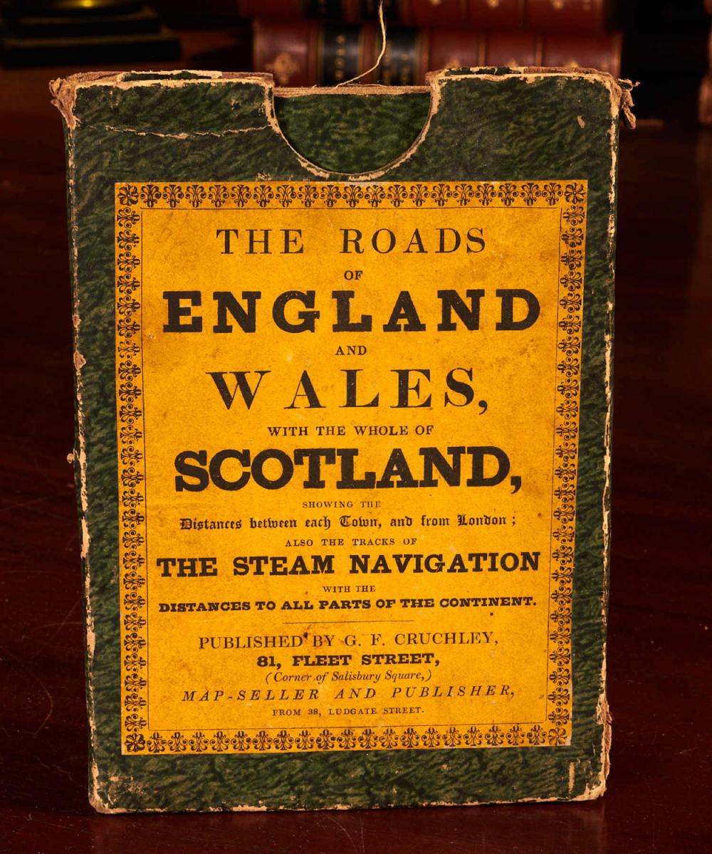 Road Map Of England And Wales With Towns.Maps Roads Of England And Wales C1860 Color Map