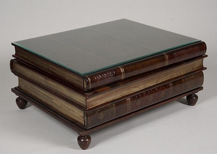 Stacked Book Coffee Table
