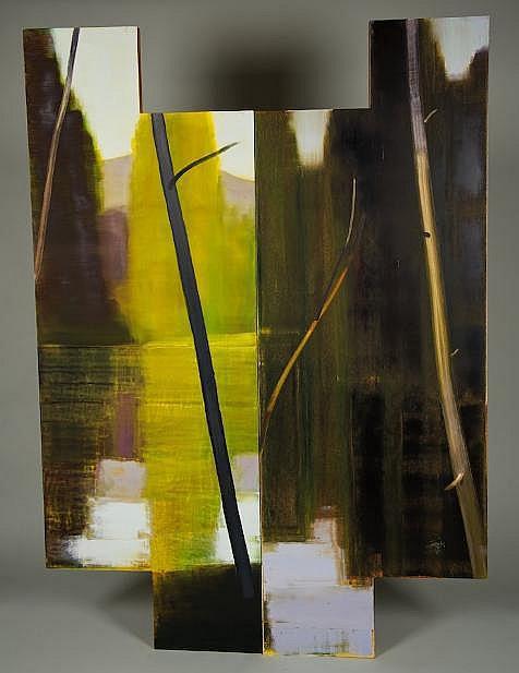 (2) paintings by Stephen Pentak (b. 1951, American)