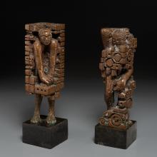 Ernest Bottomley, (2) sculptures