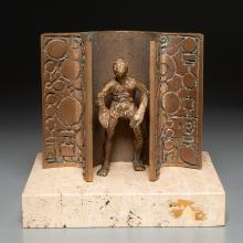 Ernest Bottomley, sculpture, 1971