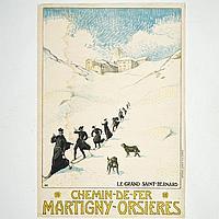 Albert Muret (1874-1955, Swiss), poster