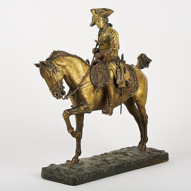 Jean-Leon Gerome (1824-1924, French), bronze