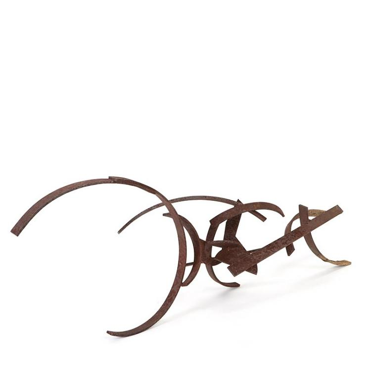 Paul Suter, steel sculpture