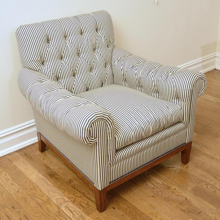 Ralph Lauren Home Tufted Upholstered Club Chair