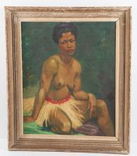 Edouard Planchais, portrait painting