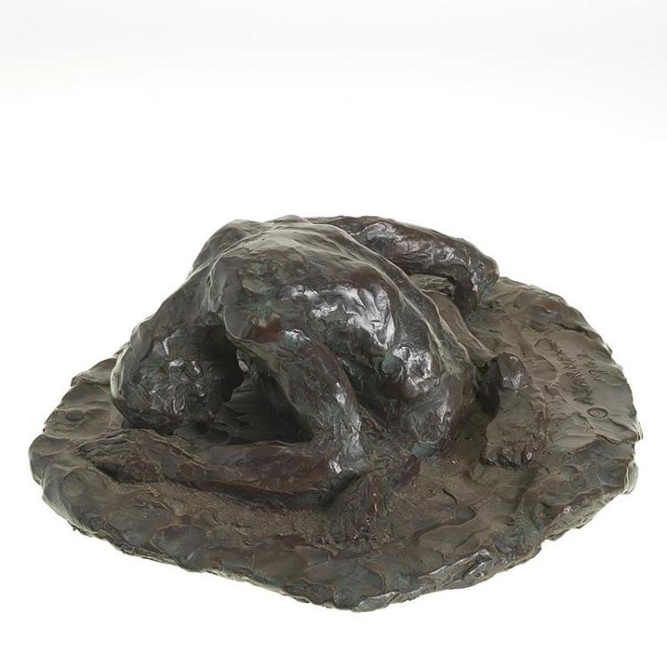 Agnes Yarnall, bronze sculpture