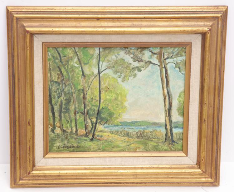 William Frahme, painting