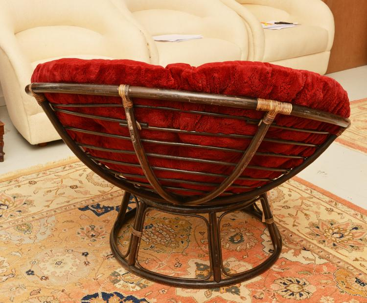 rattan papasan chair. Black Bedroom Furniture Sets. Home Design Ideas