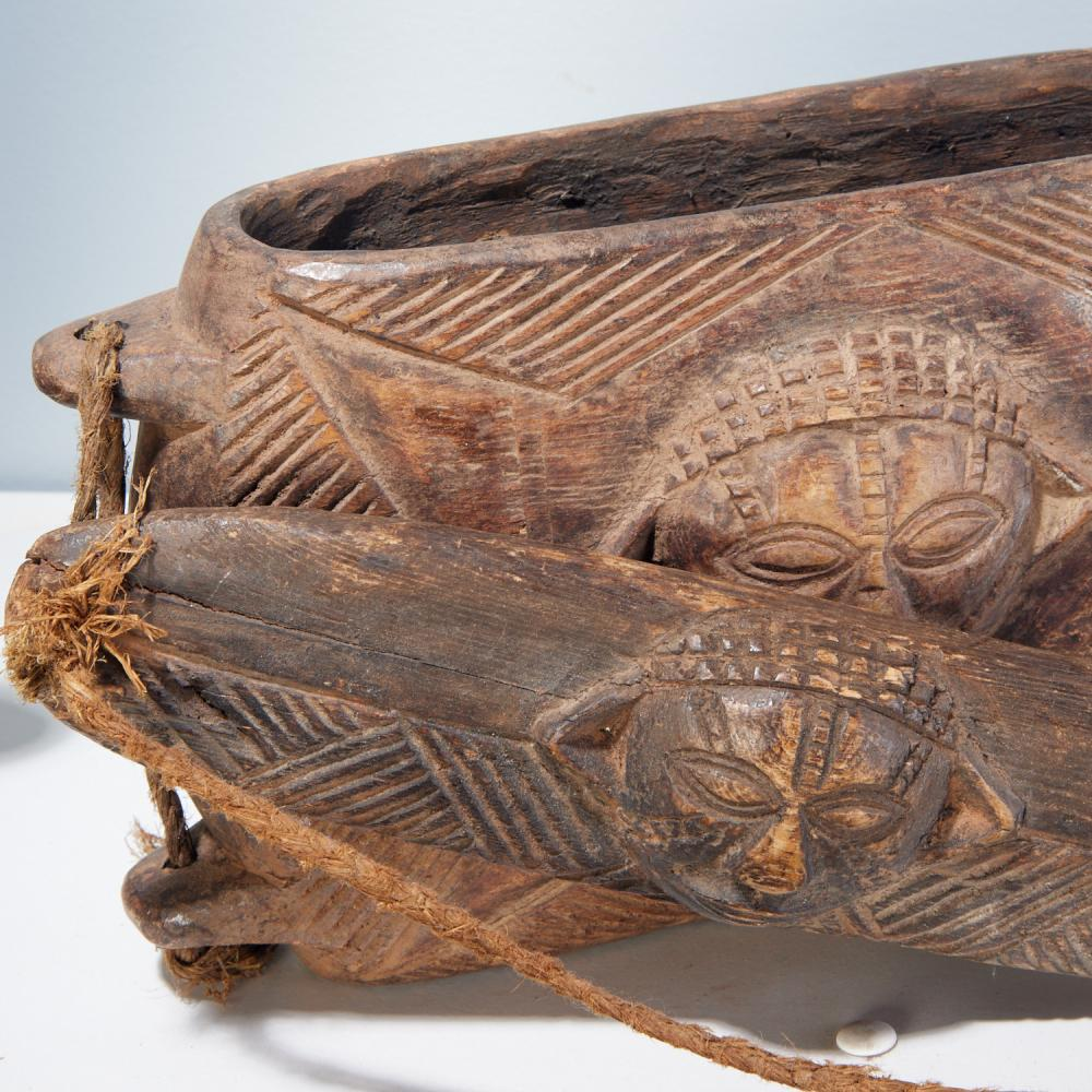 Kuba and Pende Peoples, (5) carved boxes
