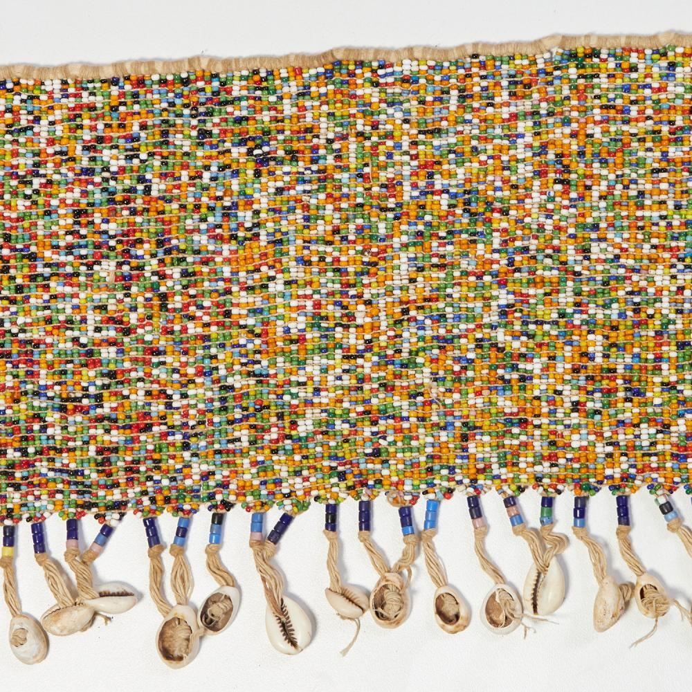 (6) Vintage African cache-sexe, beaded loincloths