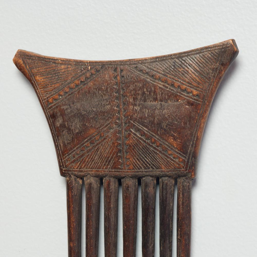 Kuba Peoples, carved wood combs