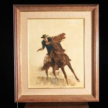 Sol Korby, Western illustration painting