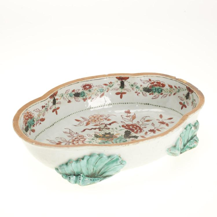 Chinese Export porcelain cabbage bowl
