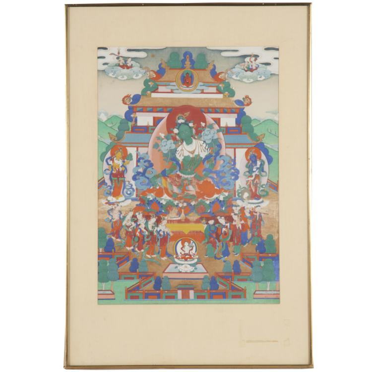 Himalayan School, Thangka painting
