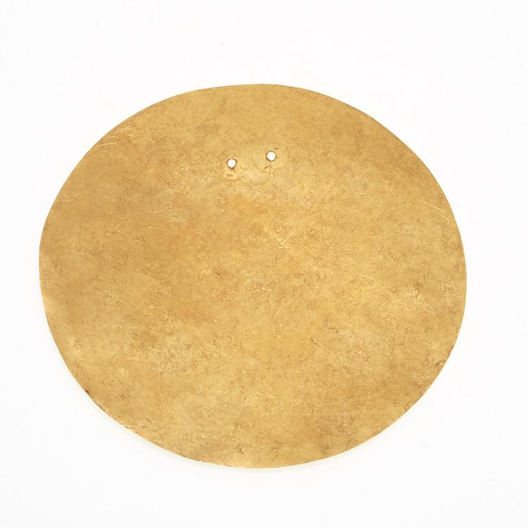 Panamanian Cocle gold disk