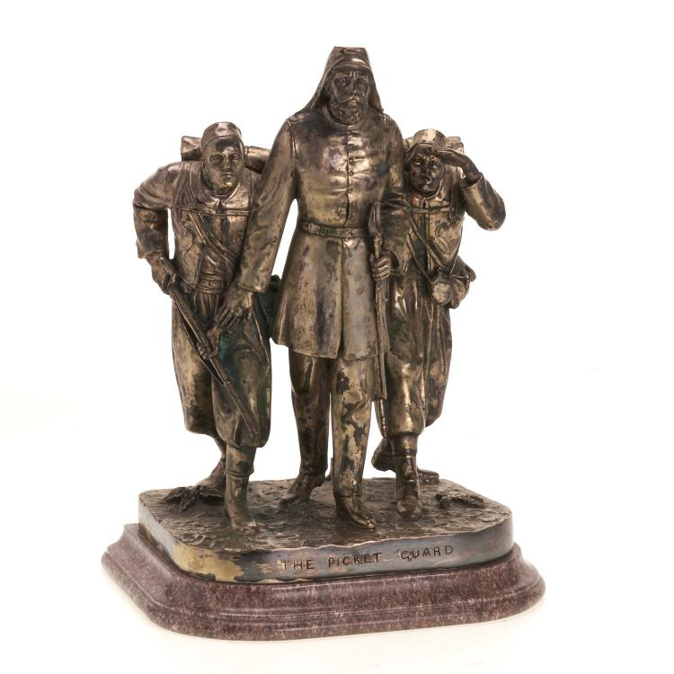 John Rogers, bronze sculpture