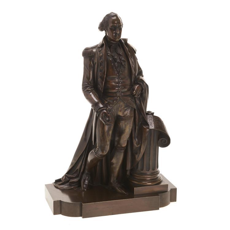 De Vaulx, bronze sculpture