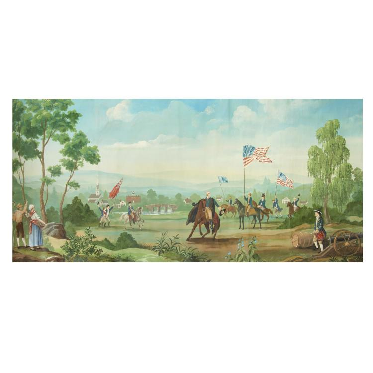 American School, large painting