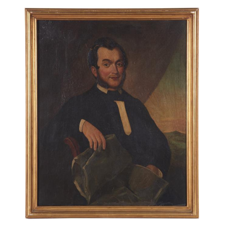 Moses B. Russell, painting