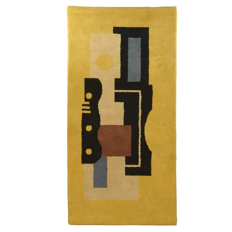 After Fernand Leger, wool tapestry