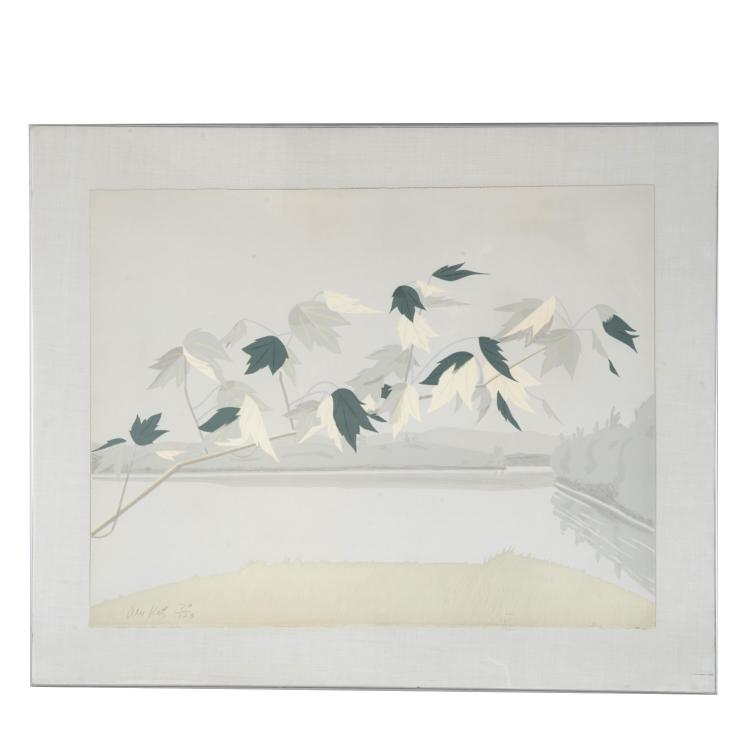 Alex Katz, limited ed. lithograph