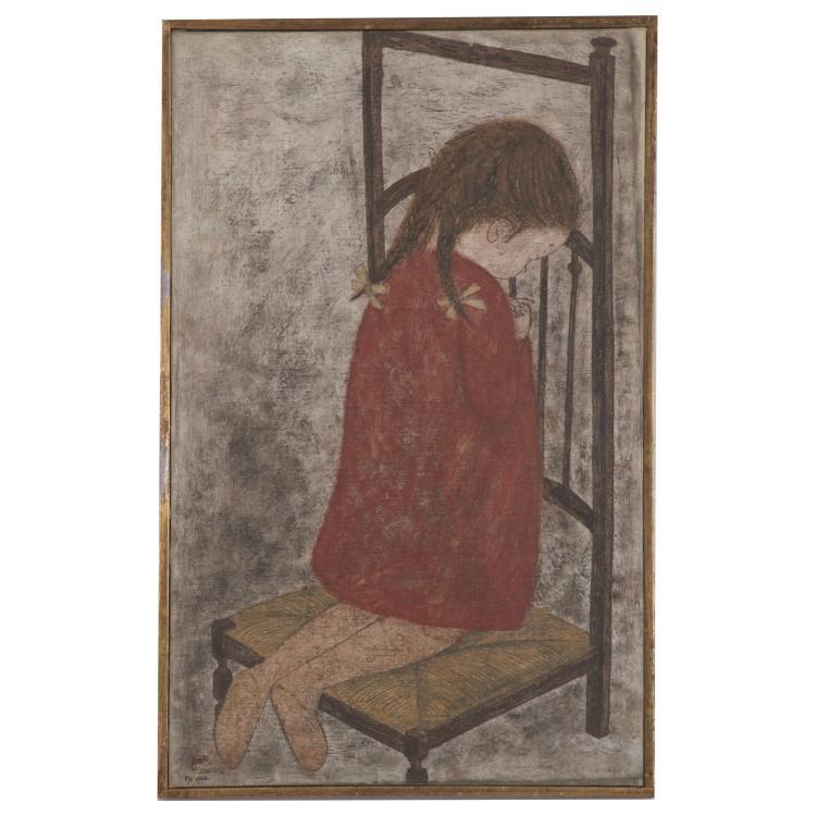 Fumiko Matsuda, painting