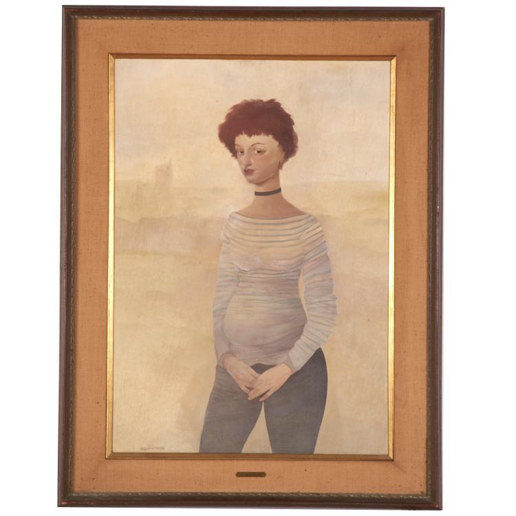 Otto Bachmann, portrait painting