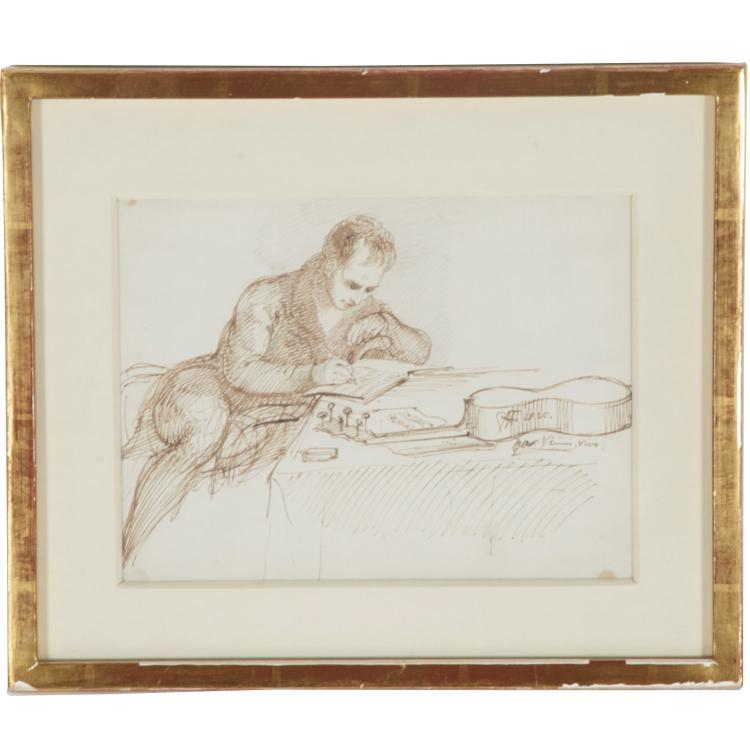 Sir George Hayter, drawing