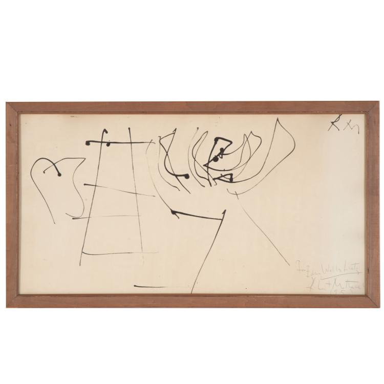 Robert Motherwell, drawing