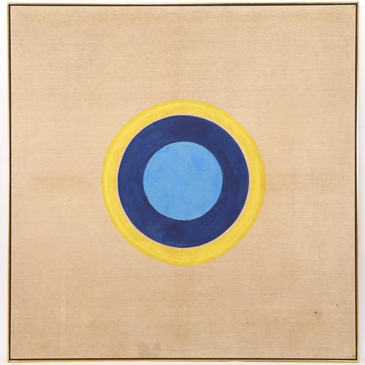 Circle of Kenneth Noland, painting